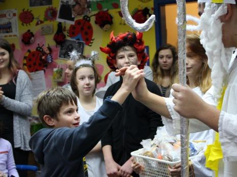 Mikuláš a čerti v Nováčku