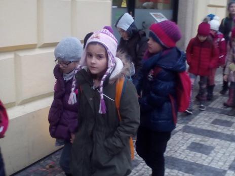 II.C a III.C na muzikálu v Praze