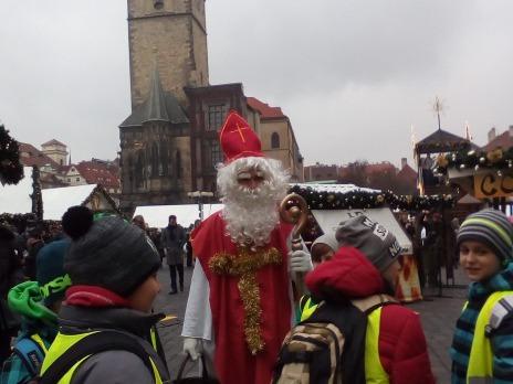 Předvánoční Praha