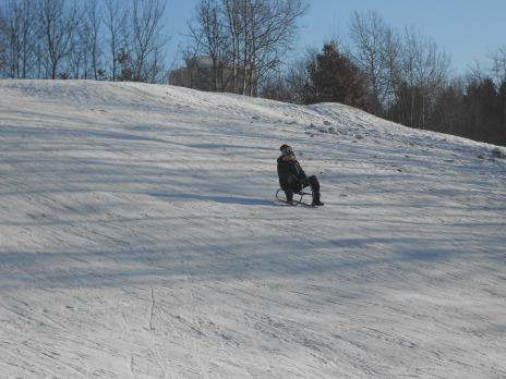 Hrátky na sněhu