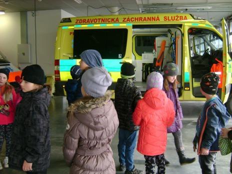 Návštěva u záchranářů