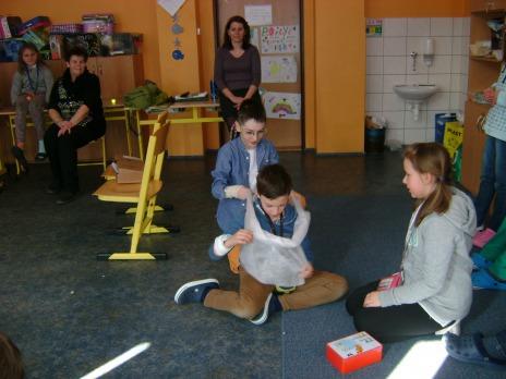 Krizové situace s mladými záchranáři