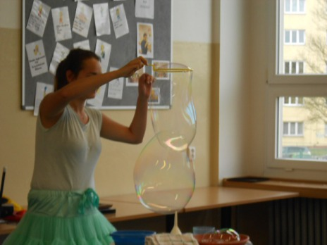 Kouzelnická a bublinková show