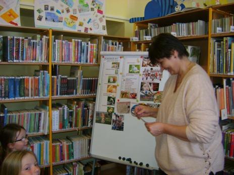 3. oddělení ŠD v knihovně