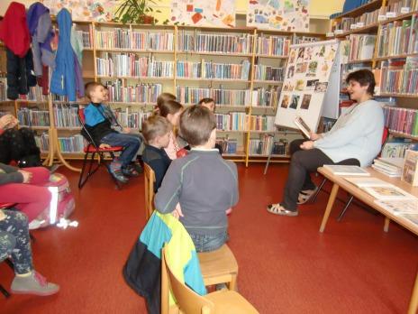 4. odd. ŠD -ohlédnutí za návštěvami knihovny na Borech