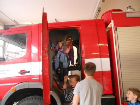 Exkurze u hasičů