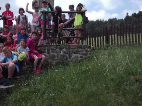 Škola v přírodě 3.A a 5.A Lhota nad Rohanovem