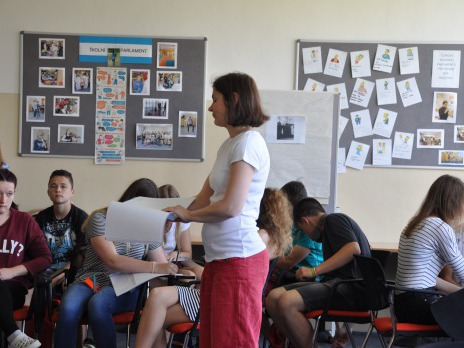 Beseda a projektový den na téma holokaust