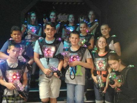 Školní parlament na laser game