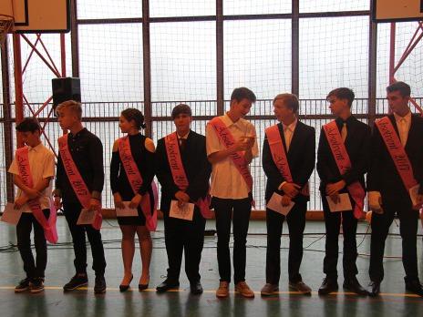 Slavnostní vyřazení deváťáků 2017
