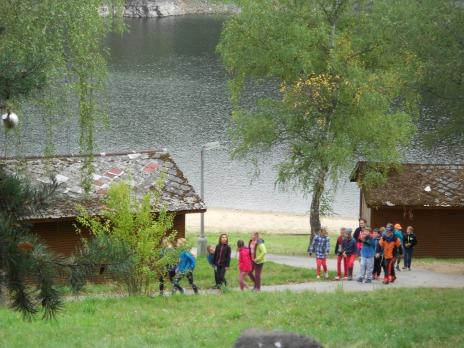 5. C na škole v přírodě v pravěku