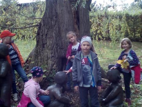 Vycházka do Luftovy zahrady - 1. C