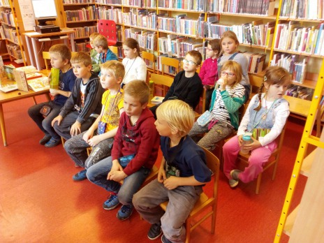 První návštěva v knihovně