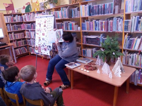 Advent v knihovně