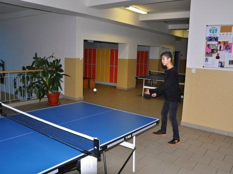 První ročník vánočního turnaje ve stolním tenise