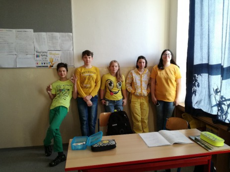 Barevný týden - žluté úterý