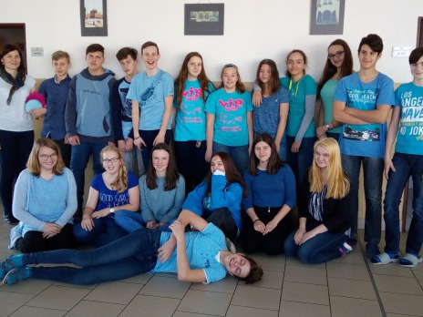 Barevný týden - modrá středa