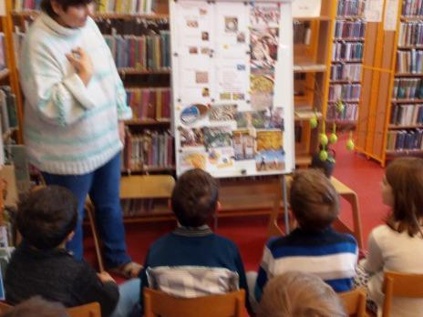 I.C poprvé v knihovně