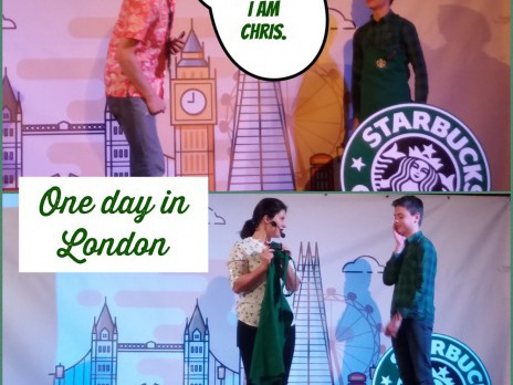 One day in London