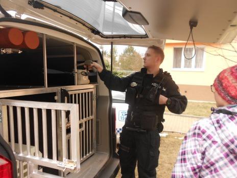 Exkurze u Městské policie