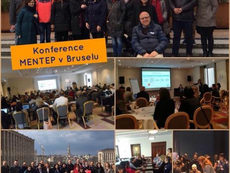 NAŠE ŠKOLA SE ZÚČASTNILA MEZINÁRODNÍ KONFERENCE MENTEP V BRUSELU
