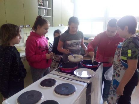 Připravujeme pokrmy