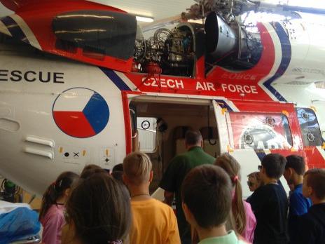 Záchranná letecká stanice Líně