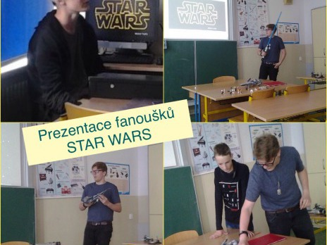 Den Star Wars na 26.ZŠ