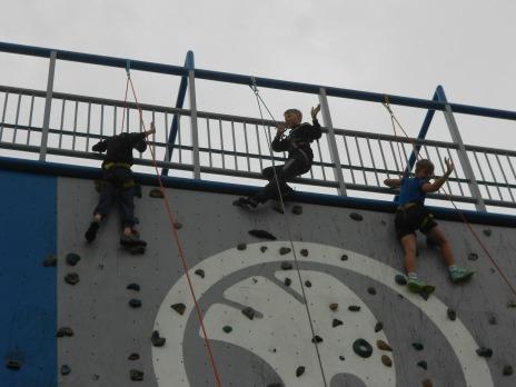 Horolezectví 5. C a 4. B