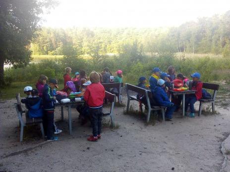 Výlet 1. C -Výšlap kolem boleveckých rybníků až na ranč.
