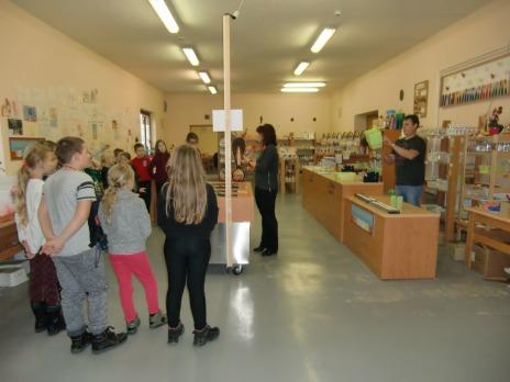 4. oddělení ŠD ve svíčkárně Rodas