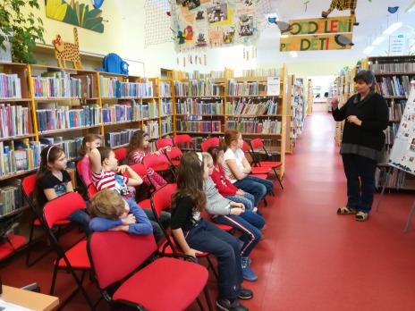 VII. oddělení ŠD v knihovně