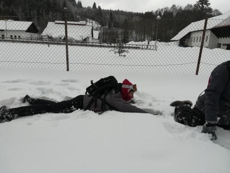 Zimní turistický kurz