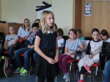 Recitační soutěž I. st. ZŠ