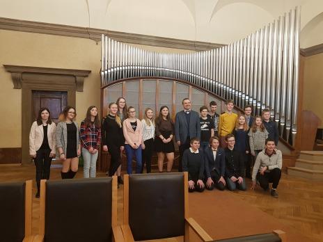 Ustavující zasedání měststkého žákovského parlamentu