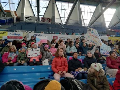 Hokejové utkání a výhra Růžovky