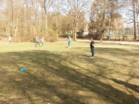 Jarní štafetový běh školní družiny