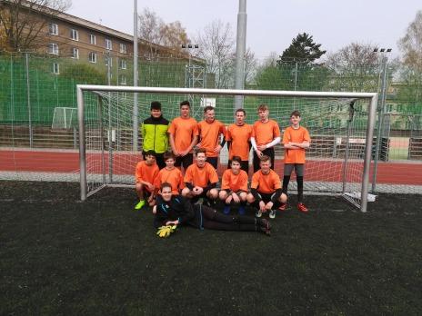 Vítězství v obvodním kole v malém fotbale