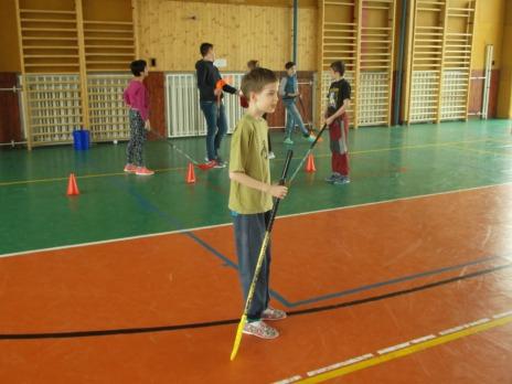 Sportovní dopoledne pro děti z Nováčku