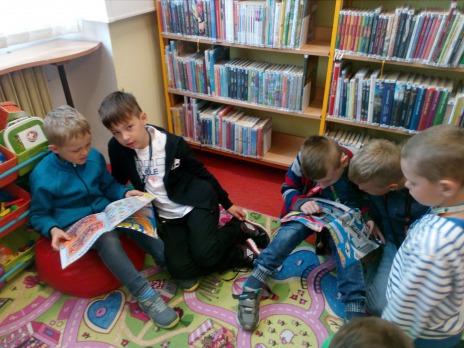 I. C v knihovně