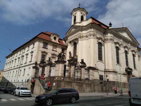 pravoslavný kostel sv. Cyrila a Metoděje v Resslově ulici