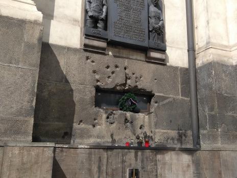 památka po boji