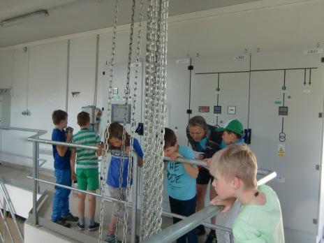 4. oddělení ŠD na exkurzi Vodní dílo České údolí