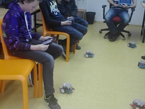 5. A v Centru robotiky