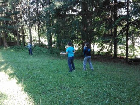 Škola v přírodě Hartmanice - 5. A a 5. B