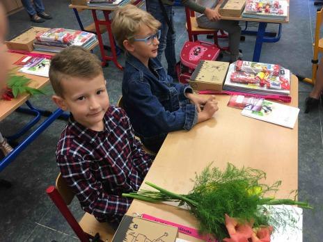 První školní den v Liticích