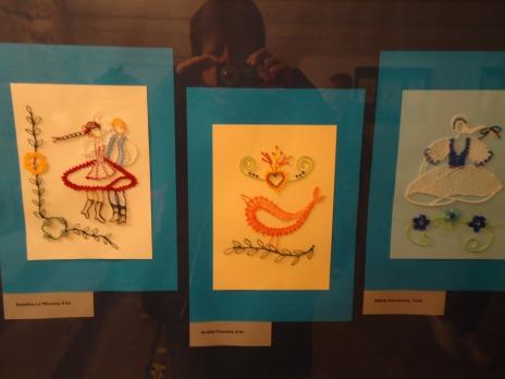Dny vědy a techniky, výstava paličkované krajky