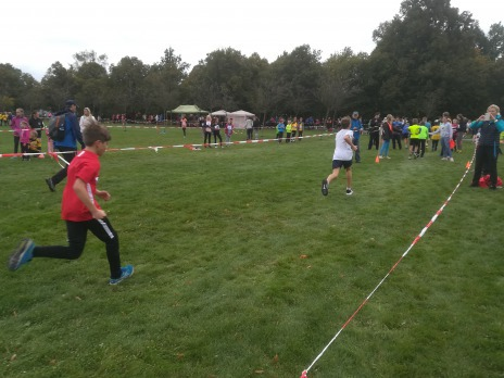 Přespolní běh družstev – okresní kolo 2019