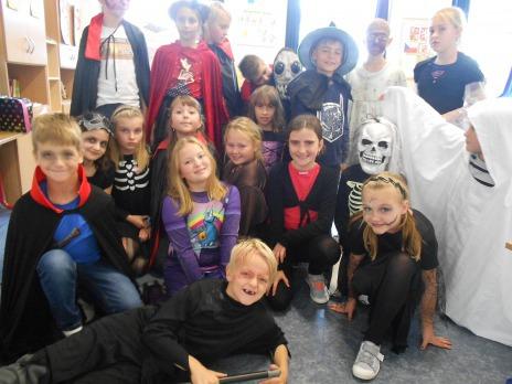Halloweenské strašení v Liticích