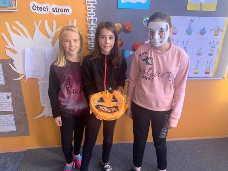 Halloweenský den v 5. C